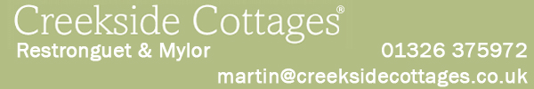 Creekside Cottages banner