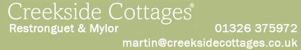 Creekside Cottages banner