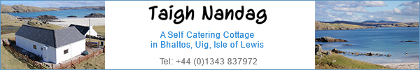 Taigh Nandag Self Catering Cottage